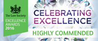 law society excellence awards highly commended 2016